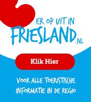 Ga voor toeristische informatie naar eropuitinfriesland.nl